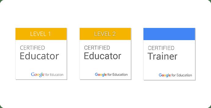 Google 教育者認定資格