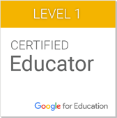 CERTIFIED Educator Google for Education