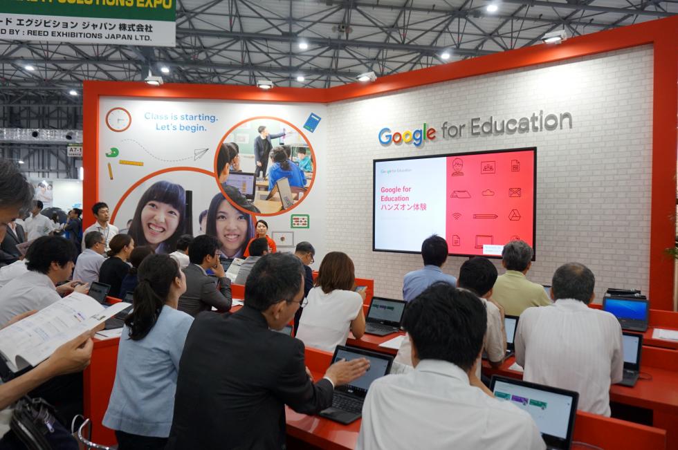 ストリートスマートは、東京ビッグサイトで開催されました「第10回 教育ITソリューションEXPO」に出展された Google ブースで登壇いたしました