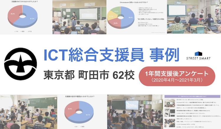 【ICT総合支援員/派遣事例】町田市全62校1年間支援レポート(後編)〜アンケート結果〜